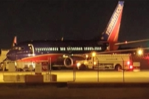 Southwest plane makes unscheduled landing in Dallas after instruments indicate problem with flap