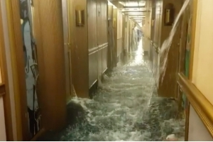 This Carnival Cruise Flooded and the Video Is Bad