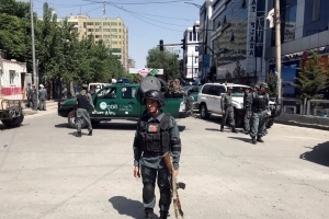 Attackers launch coordinated strikes in Afghan capital with bombs, bullets