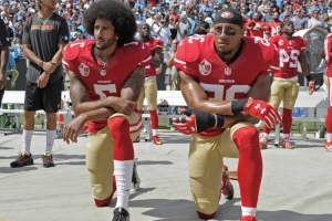 Colin Kaepernick, Eric Reid Work Out Together in California