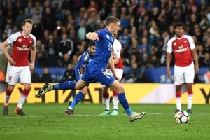 Leicester City 3 Arsenal 1: Vardy & Mahrez deepen Gunners' away-day woes