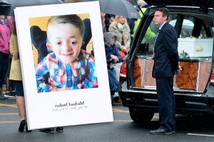 'Michael the warrior' - mourners at funeral of 'Room To Improve' star urged to embrace his outlook