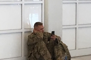 Soldier watches birth of daughter on FaceTime after delayed flight derails birth plans