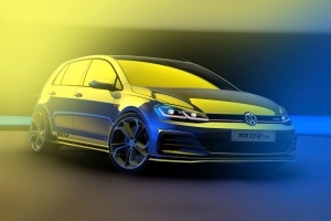 VW teases GTI TCR, a 286-hp hot hatch racer for the road