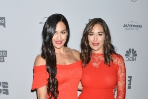 Nikki Bella has been living with sister Brie since John Cena split