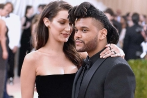 Bella Hadid and The Weeknd Spotted 'Kissing' at Nightclub Party (Exclusive)