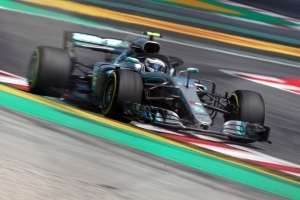 Hamilton on top with Red Bull close behind