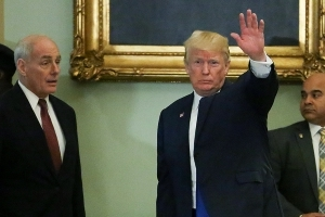 Kelly: Trump 'embarrassed' by Russia probe