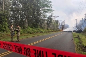 Man Allegedly Looted Lava-Evacuated Homes in Hawaii