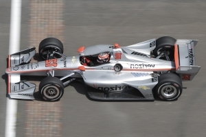Power turns fastest lap, becomes IndyCar GP pole favorite