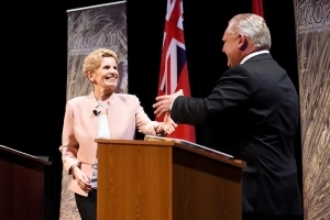 'Still like that smile,' Ford says to Wynne