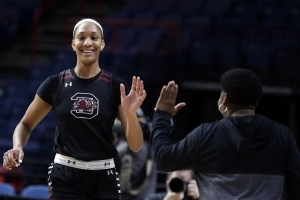 South Carolina plans statue of hoops star A'ja Wilson