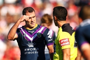 Melbourne Storm captain Cameron Smith charged after 'wishbone' tackle on Kevin Proctor