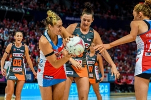 NSW Swifts in netball win over Giants