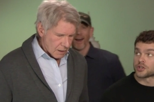 Harrison Ford Crashes New Han Solo Actor's Interview: 'Get Out of My Life!'