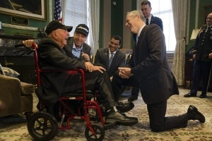 World War II vet, 99, on mission to meet every state's governor