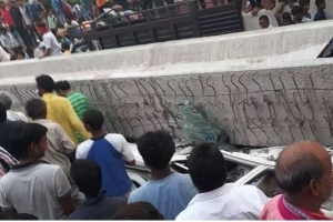 12 Dead, Many Trapped As Under Construction Flyover Collapses In Varanasi