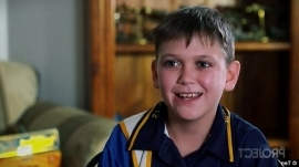 a person smiling for the camera: 'Those who mind don't matter, those who matter don't mind': Cameron Schubert opened up about his Tourette's in a bid to change the public's reaction to people with the syndrome