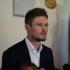Bancroft admitted to ball tampering in the third test against South Africa.