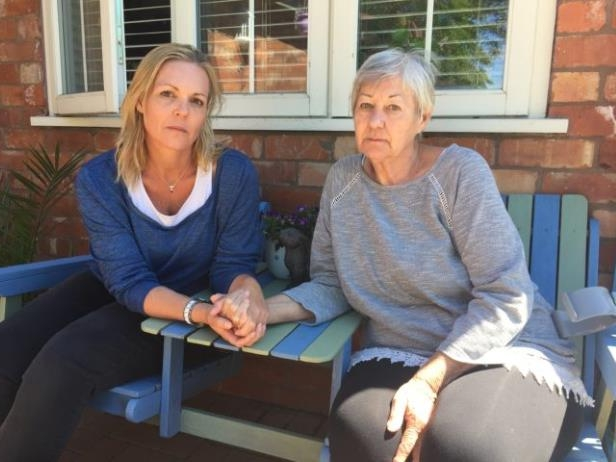 Brenda Ackerman, with daughter Candice Gordon, wants to be able to remain in the UK and stay living in the Worcestershire family home