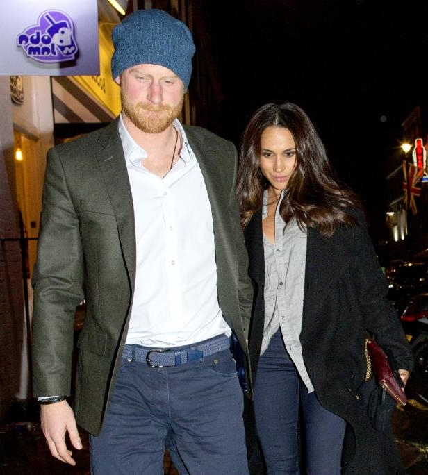 Slide 12 of 21: The prince and his new love were photographed together for the first time during a date night in London in February 2017.