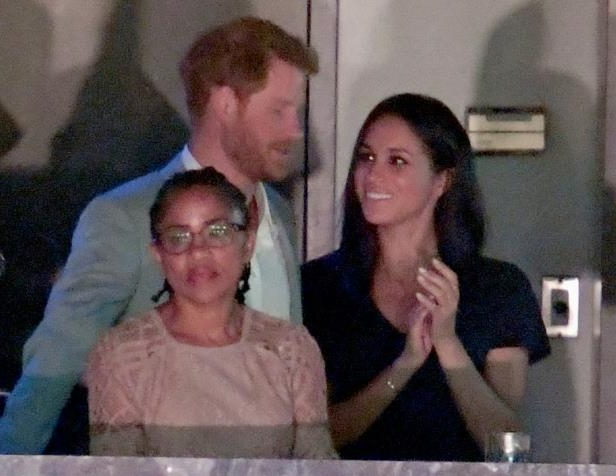 Slide 14 of 21: Harry and Markle spent some quality time with her mother, Doria Ragland, at the Invictus Games in September 2017.