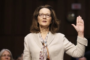 The Latest: Top Senate intel Dem says he supports Haspel