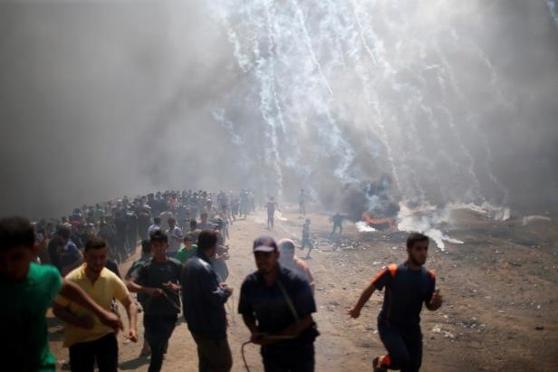 Violence near the border between Gaza and Israel.