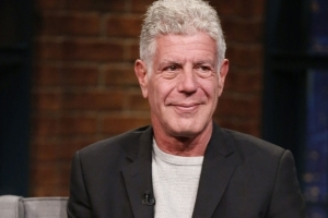 Anthony Bourdain Can't Quit Popeyes