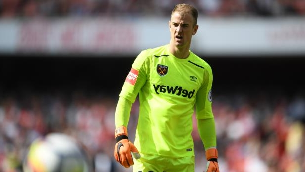 Joe Hart wearing a uniform