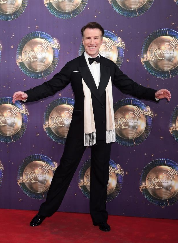 LONDON, ENGLAND - AUGUST 28:  Anton du Beke attends the 'Strictly Come Dancing 2017' red carpet launch at Broadcasting House on August 28, 2017 in London, England.  (Photo by Karwai Tang/WireImage)
