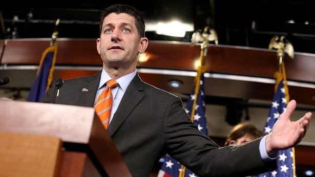 Paul Ryan wearing a suit and tie