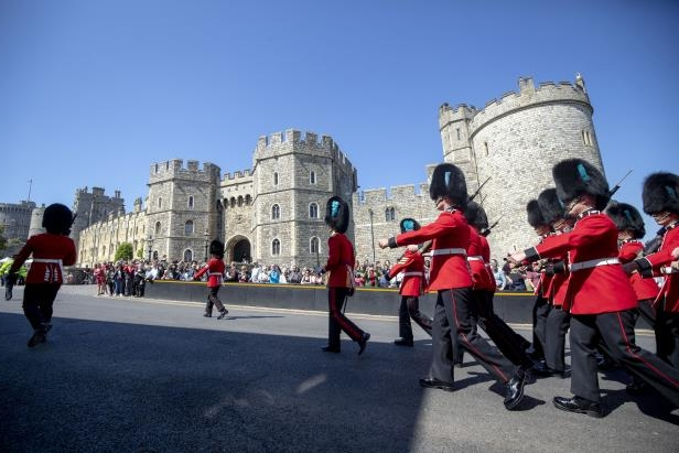 The couple are getting married at Windsor Castle (Steve Parsons/PA)