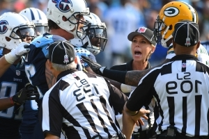 The NFL is considering making ejections reviewable