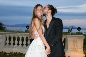 Heidi Klum Makes Red Carpet Debut With New Boyfriend in Cannes