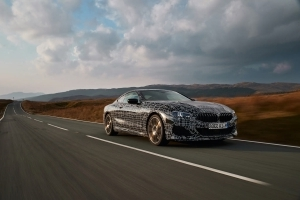 Hear the BMW 8 Series Coupe Zip Through the Winding Roads of Wales