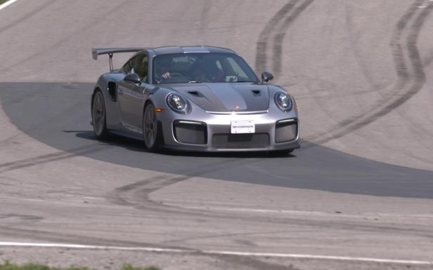 Slide 13 of 24: 2018 Porsche 911 GT2 RS - Even before the dogleg that is Turn 7, you can feel the downforce at play and the car even touches the track over some slight bumps at well over 250 kilometres per hour. Even at that speed, the GT2 RS feels very stable, the car only moving slightly following track undulations. This is one impressive and very powerful machine.
