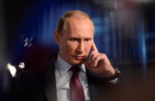 Vladimir Putin: Russian President Vladimir Putin give an interview focused on Russia's action in Syria.