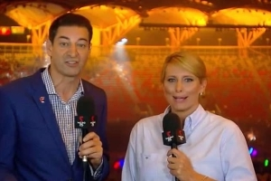 'I'm gonna go rogue': The words Channel Seven host Johanna Griggs 'uttered to her bosses' before launching into a tirade about Commonwealth Games' disappointing closing ceremony - and you won't believe their response