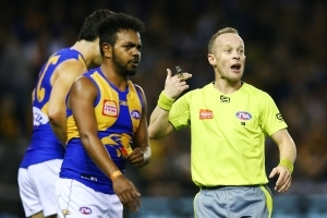 Eagle's AFL umpire tap could prove costly