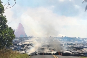 Fast-moving lava sparks immediate evacuation in Hawaii