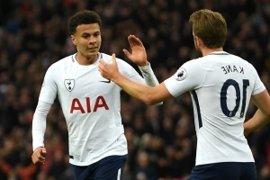Kane hails 'game-changer' Alli as Tottenham duo prepare for World Cup duty