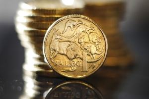The Australian dollar is pushing higher to start the week
