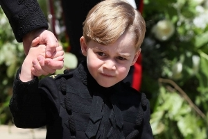 This is why Prince George's wedding outfit has gone viral