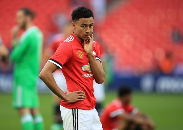 """5bc8fceefae Jesse Lingard claims to """"feel more comfortable"""" playing for England than  Manchester United,"""