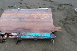 Possible shipwreck off California after Coast Guard discovers pieces of wooden boat, shoes, and clothes