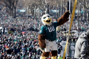 Eagles fan accused of punching police horse sues team, cops