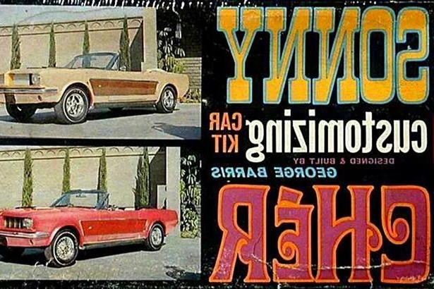 Slide 2 of 26: sonny-cher-ford-mustang-custom-mustang-model-kit.jpg