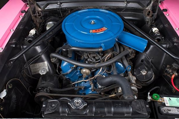 Slide 25 of 26: sonny-cher-ford-mustang-engine.jpg