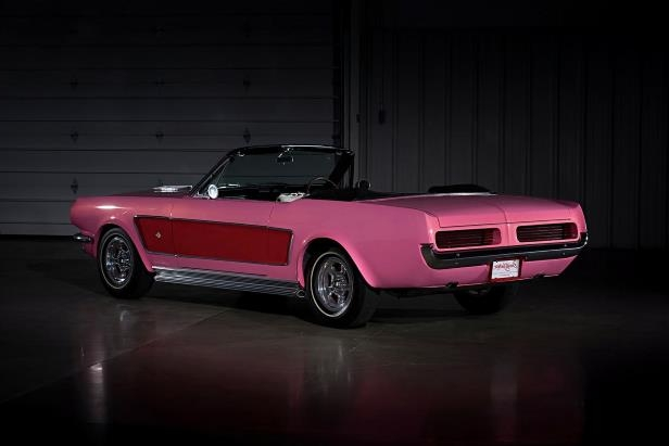 Slide 26 of 26: sonny-cher-ford-mustang-rear-quarter.jpg